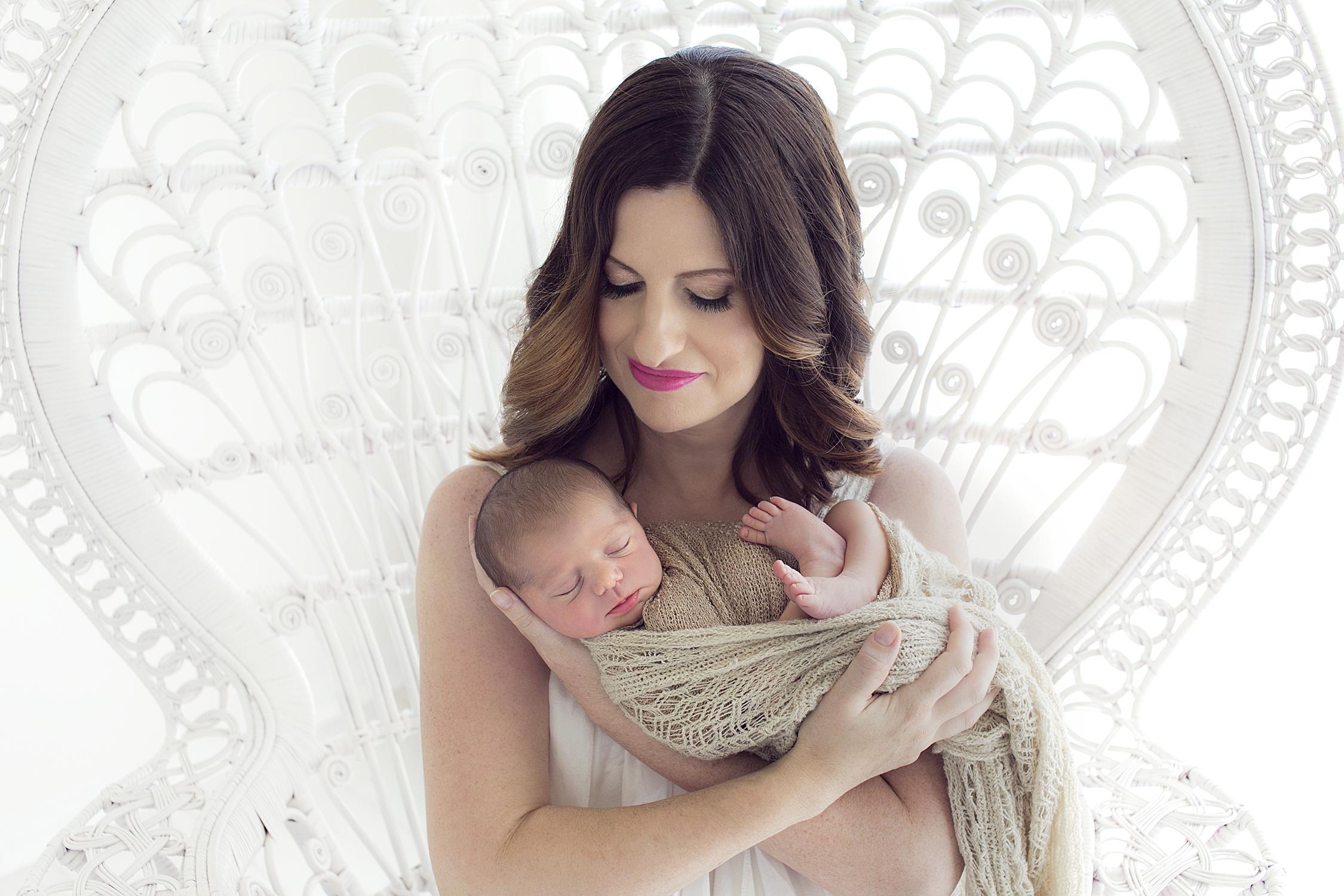 Burleigh newborn photographer